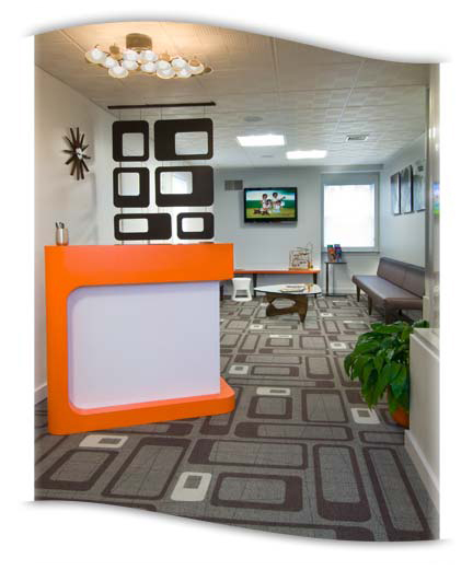 Lititz Orthodontics Reception Area Photo